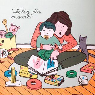 Feliz día mamá 💛📚 Hoy y todos los días 😘😘 📷extracto del libro de Aurore Petit (2020) Una mama es como una casa, Ed. Amanuta.
