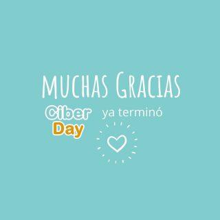 Ya se acabo el #ciberday Estoy con el corazón llenito. Fue maratónica pero lo logramos. Ayer ya fueron retirados los envíos en Santiago y hoy se van a regiones 💪🏻 Gracias, gracias. 🙏🏻 Que la lectura llegue a muchos hogares, nos hace muy feliz 📚💛